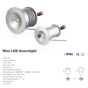 3W Outdoor LED Downlight IP65 Waterproof LED Garden Light pictures & photos