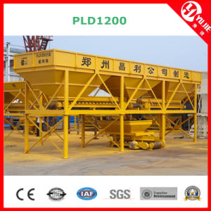 PLD1200 Concrete Batching Machine, Aggregate Batching Machine, Aggregate Batcher pictures & photos