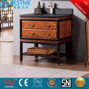Underounter Basin Mirrored Vanities Solid Wood Cabinet by-F8081 pictures & photos