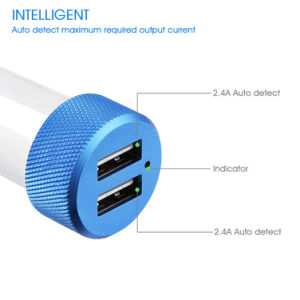 Power Dual USB Car Charger for Mobile Phone pictures & photos