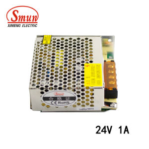 Smun S-25-24 25W 24V 1A AC-DC Switching Power Supply SMPS pictures & photos