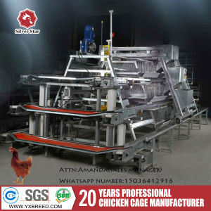 Battery Chicken Egg Layer Cage with Galvanized Wire Mesh pictures & photos