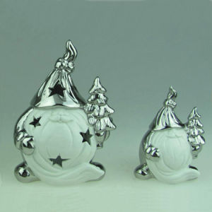 New Product Ceramic Bravo Christmas Decorations Made in China pictures & photos
