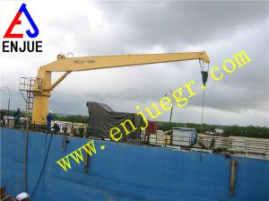 Hydraulic Telescopic Straight Arm Boom Marine Crane Offshore Crane pictures & photos