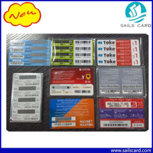 Custom Calling Scratch Card PVC Recharge Cards pictures & photos