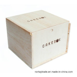 Wood Cake Box Wood Box for Cupcakes pictures & photos