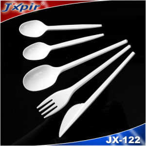 Food Safe PS Flatware White or Colored Custom Cheap Cutlery pictures & photos