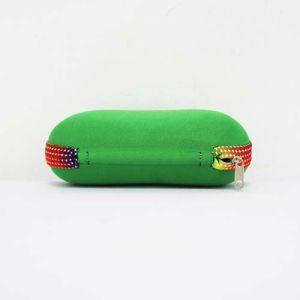 Eco-Friendly Wholesale Green Zipper EVA Glasses Bag Case pictures & photos
