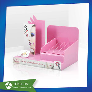Acrylic Makeup Organizer Display with LED Light pictures & photos