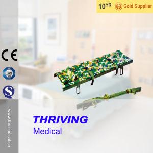 Hospital Aluminum Alloy Foldaway Stretcher (THR-1C) pictures & photos