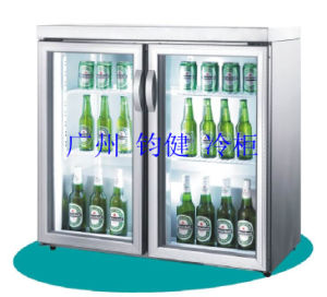 Counter-Top Beer Display Cooler Mini Cooler pictures & photos