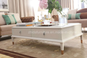 New Classic Solid Wood Coffee Table pictures & photos