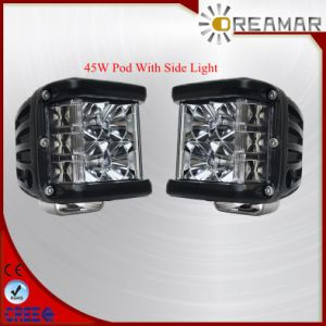 45W Three Side Shooter LED Car Work Light with 2 Years pictures & photos