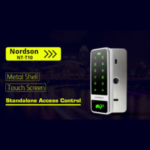 Metal Shell Touch Screen Weigand Output RFID Standalone Access Control with Management Card pictures & photos
