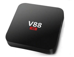 Cheapest 4K IPTV Box V88 Quad Core Rk3229 1/8g Smart Android 6.0 TV Box Customized pictures & photos