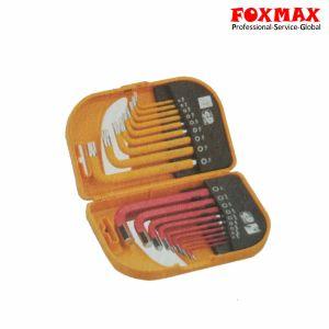 18PCS Short Arm Combo Hex Key Set HK-048 pictures & photos