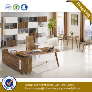 Hot Sale Furniture Wooden L Shape Manager Office Table (HX-BS811) pictures & photos
