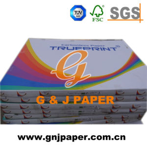 High Quality Wood Pulp NCR Copy Paper in Blue Image pictures & photos