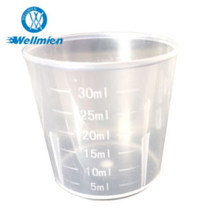 Disposable Plastic Measuring Cup for Medical Use pictures & photos