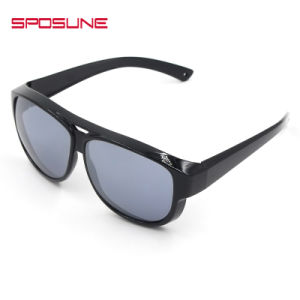 White Red Frame Colorful Sun Glassesunbreakable Polarized Eyewear pictures & photos