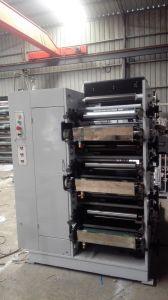 Flexo Printing Machine High Speed 3 Color pictures & photos