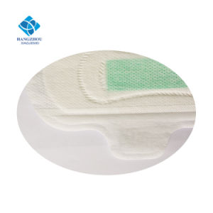 290mm Ultra Thin Super Absorbency Female Night Use Anion Sanitary Napkin with Anti-Bacteria pictures & photos