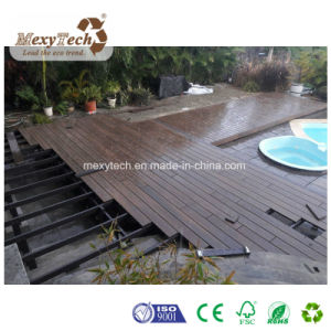 Ce Wood Grain Waterproof Customized WPC Composite Co-Extrusion Decking pictures & photos