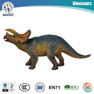 Plastic Dinosaur Filled with Cotton Toys for Promotional Gifts pictures & photos