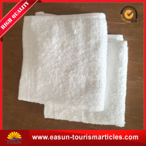 Polyester Towel for Airline Inflight White Hand Towel pictures & photos