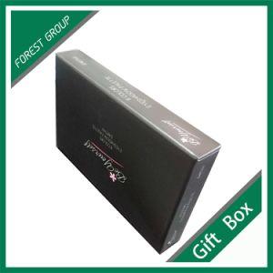 Rigid Black Drawer Gift Box with Matt Lamination pictures & photos