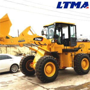 Construction Equipment 3 Ton Mini Front End Wheel Loader Zl30 pictures & photos