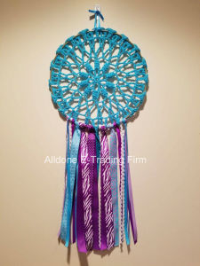 Hand Crochet Feather Dream Catcher Boho Wall Hanging Wedding Decoration pictures & photos