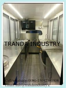 Mobile Electric Ice Cream Cart for Sale pictures & photos