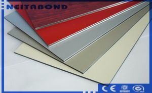 Anti Static Brushed Mirror PE Coating Decorative Sheet ACP pictures & photos