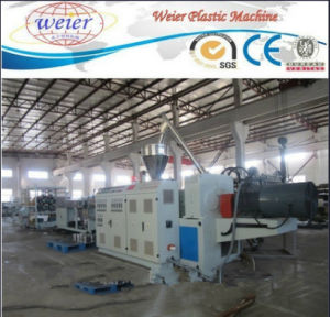 PVC Double Pipe Machine Production Line PVC Water Drainage Pipe Extrusion Machine Line PVC Pipe Making Line pictures & photos