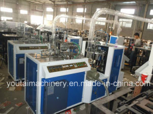 Fully Automatic Paper Cup Forming Machines with Shooter Collecter pictures & photos