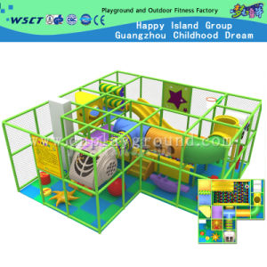 Small Indoor Castle with Plastic Slide for Children (MH-05606) pictures & photos