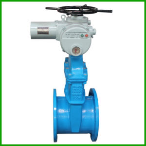 BS5163 Electric Resilient Seat Gate Valve-Rubber Seal Gate Valve pictures & photos