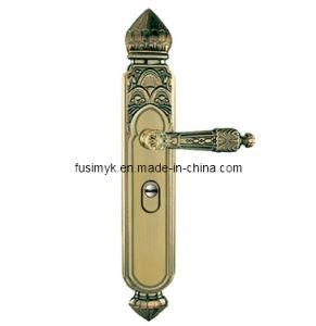 New Design Green Bronze Door Handles (FA-6011TL) pictures & photos