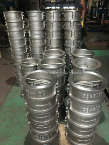 ANSI Cl150 Stainless Steel Wafer Check Valve, Double Door pictures & photos