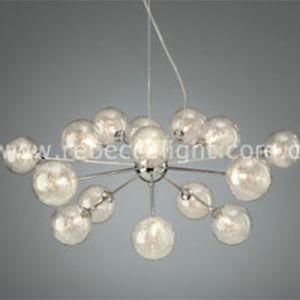 Modern White Halogen Glass Ball Pendant Lighting pictures & photos