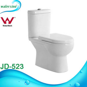 Watermark Approved Australian Market Wash Down Two-Piece Wc Toilet pictures & photos