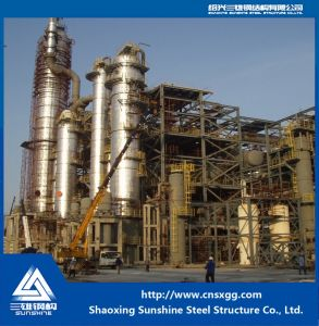 Shanghai Secco Petrochemical Prefabricated Steel Structure Building for Chemical pictures & photos