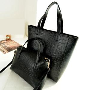 PU Ladies Twins Handbag Kk2020 pictures & photos