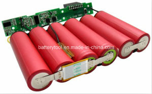 Rechargeable SANYO Battery Pack 11.1V 6600mAh pictures & photos