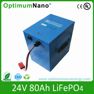 Rechargeable 24V 80ah LiFePO4 Battery Packs pictures & photos