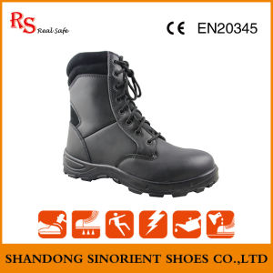 Black Action Leather Cheap Military Boots Snf509 pictures & photos