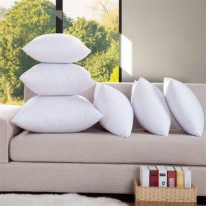 Down Proof Cover Cotton Feather Padding Pillow Cushion pictures & photos