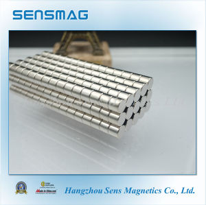 Strong Magnet N45sh Permanent Neodymium NdFeB Magnet with Nicuni Coated pictures & photos