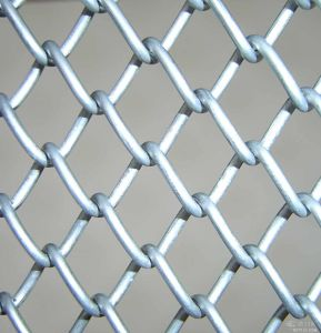 China Factory PVC Coated Chain Link Mesh Garden Fence Price pictures & photos